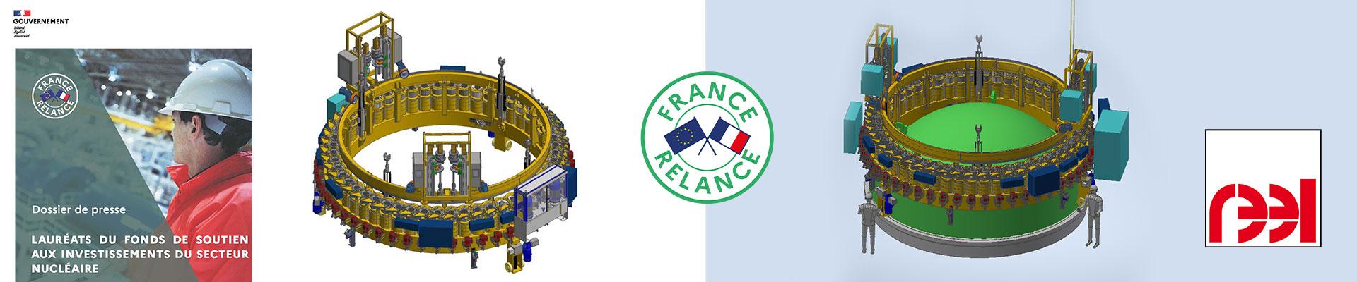 REEL Nuclear innovation France Relance